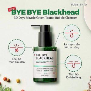 Bye Bye Blackhead 30 Days Miracle Green Tea Tox Bubble Cleanser