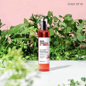 nước hoa hồng Snail Truecica Miracle Repair Toner