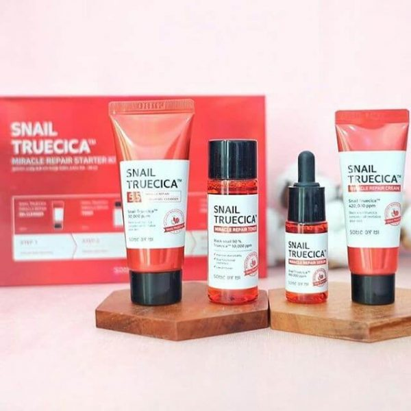 Snail Truecica Miracle Repair Starter Kit Edition
